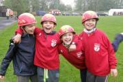 Mladí hasiči - 4 závody v požárním útoku